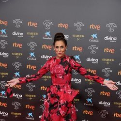 María Barranco en la alfombra roja de los Goya 2021