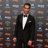 Jon Kortajarena en la alfombra roja de los Goya 2021