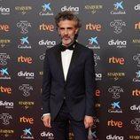 Juan Diego Botto en la alfombra roja de los Goya 2021