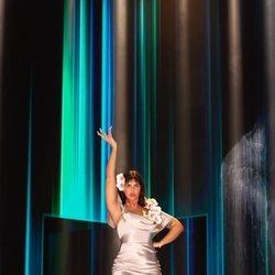 Nathy Peluso actuando en la gala de los Goya 2021