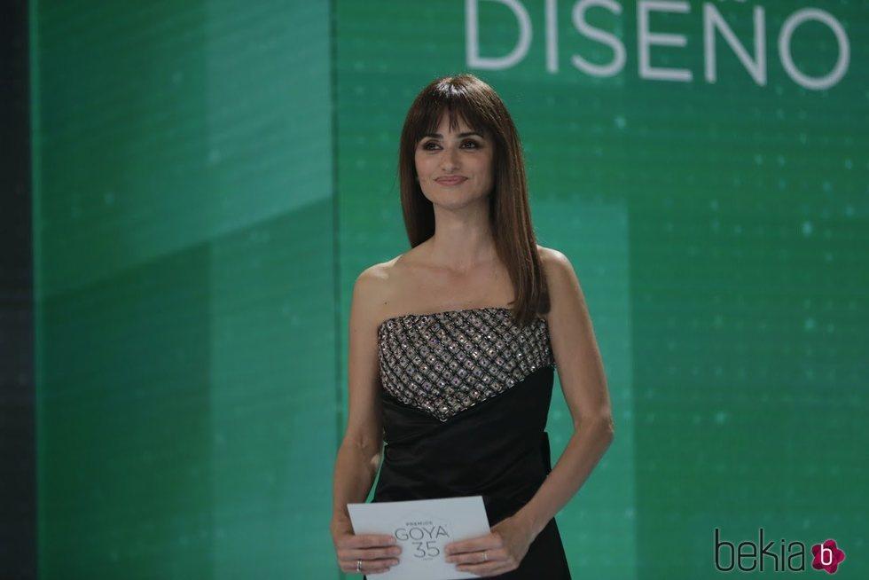 Penélope Cruz en la gala de los Goya 2021