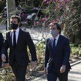 Pablo Casado y José Luis Martínez-Almeida en el Acto de Reconocimiento y Memoria a todas las Víctimas del Terrorismo en Madrid
