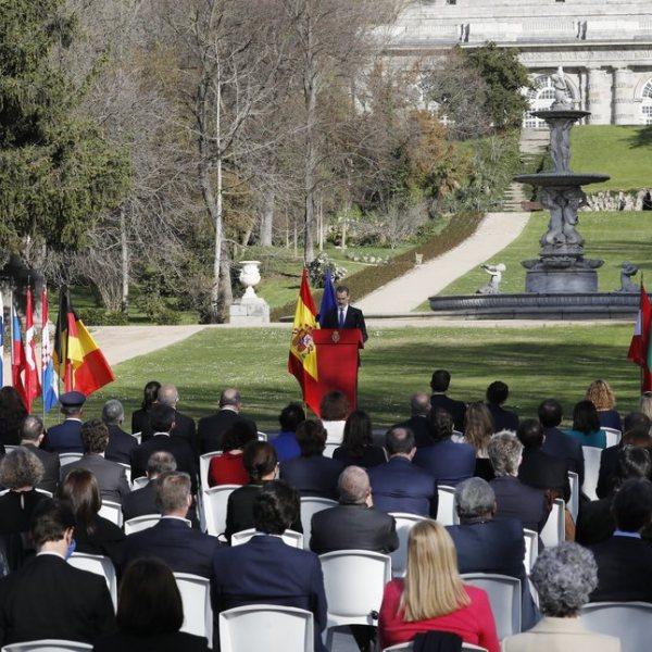 Acto de Reconocimiento y Memoria a todas las Víctimas del Terrorismo en Madrid