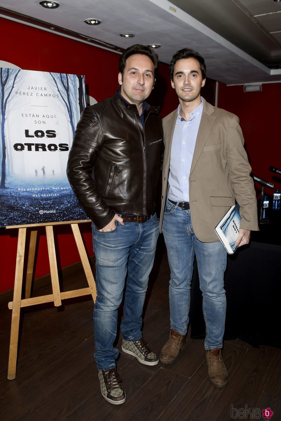 Iker Jiménez y Javier Pérez Campos