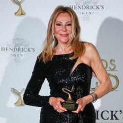 Ana Obregón recibe el Premio Yago de Honor 2021