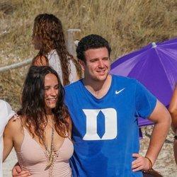 Carolina Monje y Álex Lequio en Formentera