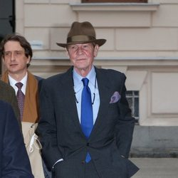Ernesto de Hannover tras su juicio en Austria