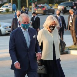 El Príncipe Carlos y Camilla Parker en Atenas para celebrar el bicentenario de la Independencia de Grecia