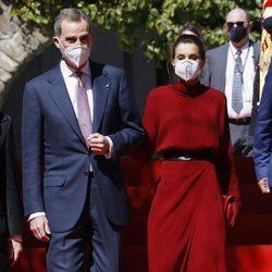 Los Reyes Felipe y Letizia al comienzo de su Viaje de Estado a Andorra