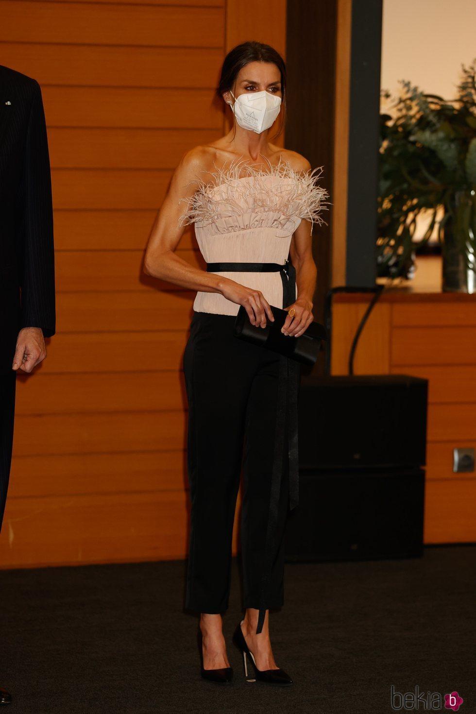 La Reina Letizia en la cena oficial en su Viaje de Estado a Andorra