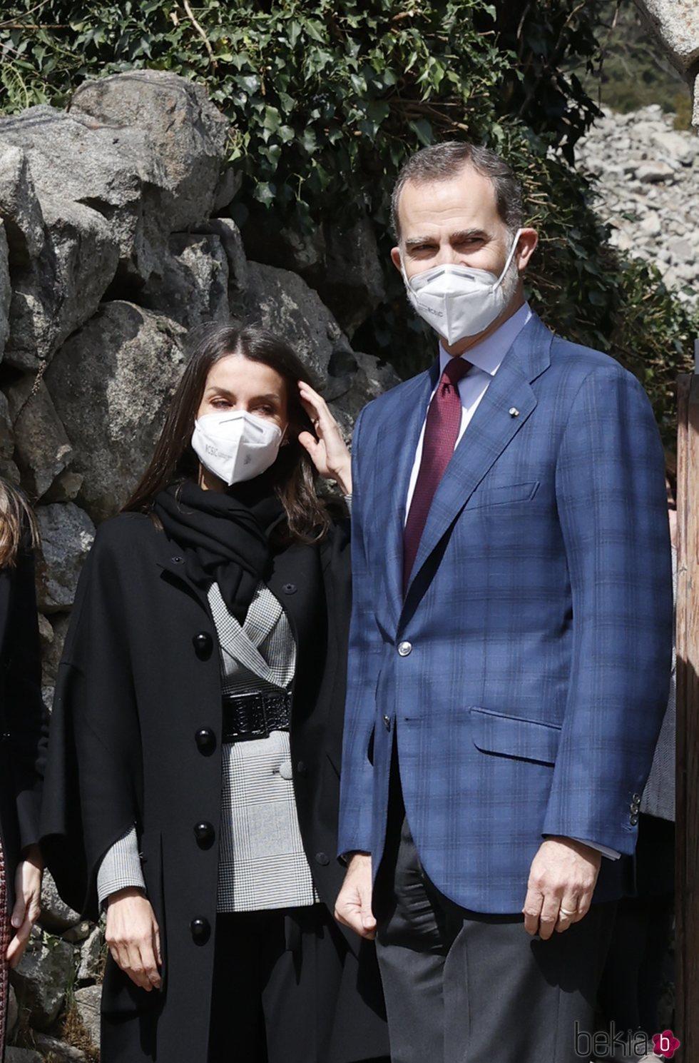 Los Reyes Felipe y Letizia en la Iglesia de Santa Coloma durante su Viaje de Estado a Andorra