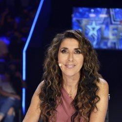 Paz Padilla en la mesa del jurado en la semifinal de 'Got Talent'