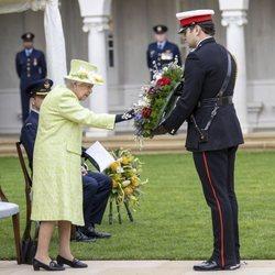 La Reina Isabel en el centenario de la Royal Australian Air Force