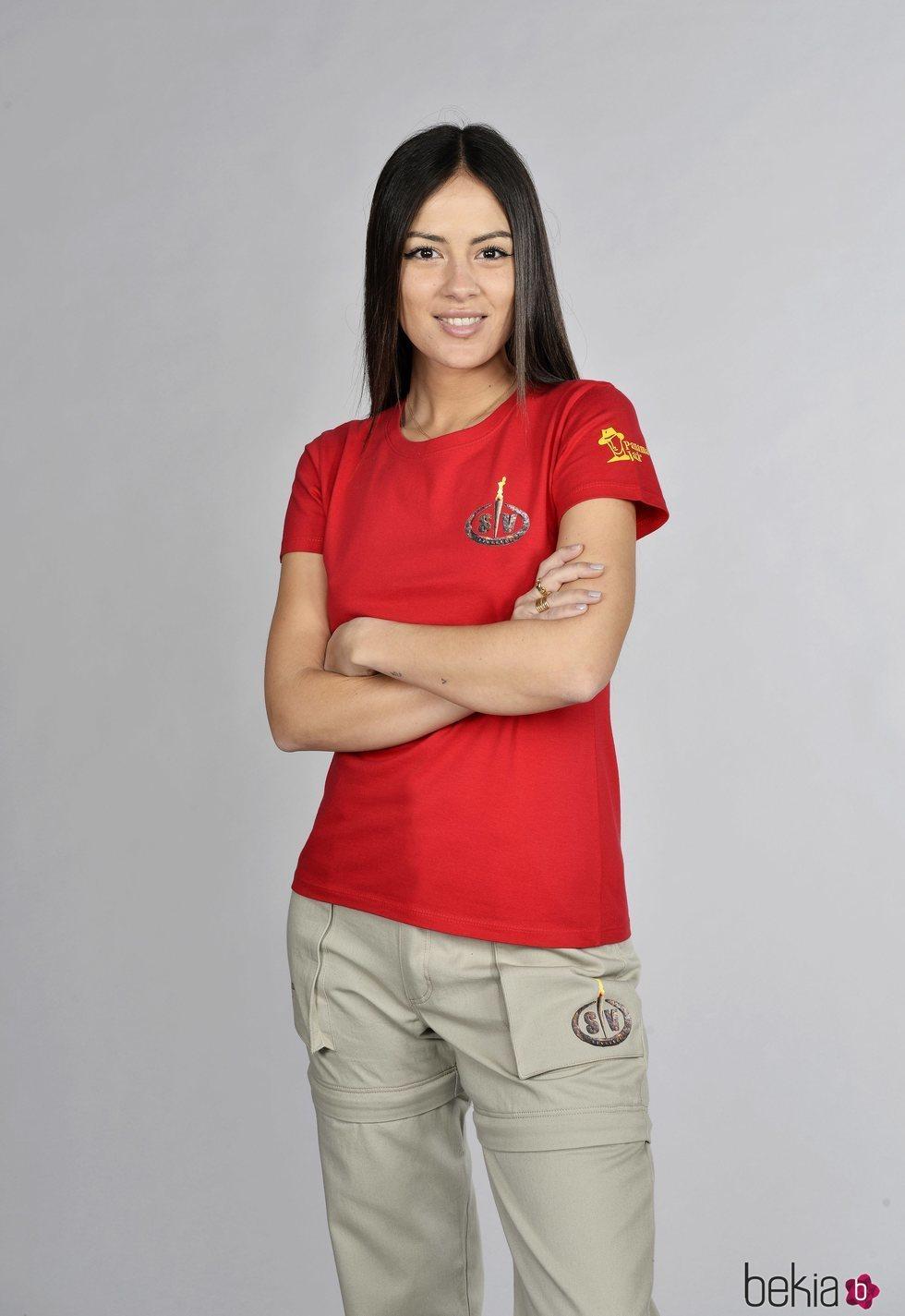 Melyssa Pinto en la foto oficial de 'Supervivientes 2021'