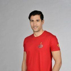 Gianmarco Onestini posando en la foto oficial de 'Supervivientes 2021'