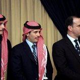 Hamzah de Jordania, Hashim de Jordania y Faisal de Jordania