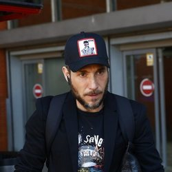 Antonio David Flores en Atocha llegando a Madrid