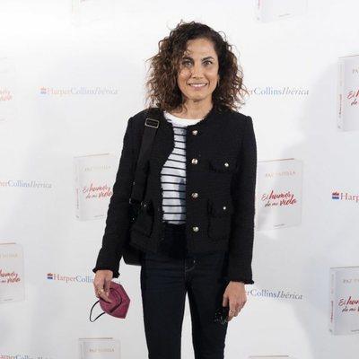 Toni Acosta en la presentación de 'El humor de mi vida', libro de Paz Padilla