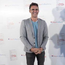 Alonso Caparrós en la presentación del libro de Paz Padilla 'El humor de mi vida'