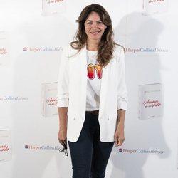 Fabiola Martínez en la presentación del libro de Paz Padilla 'El humor de mi vida'