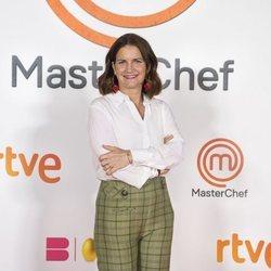 Samatha Vallejo-Nágera en la presentación de 'Masterchef 9'