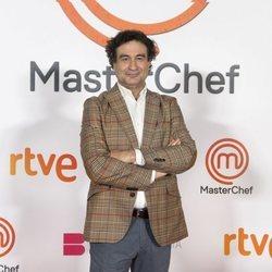 Pepe Rodríguez en la presentación de 'Masterchef 9'