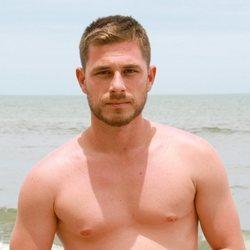 Tom Brusse en la playa de Honduras en 'Supervivientes 2021'