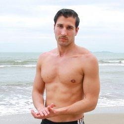 Gianmarco Onestini en la playa de Honduras en 'Supervivientes 2021'