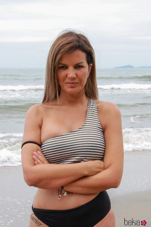Marta López en la playa de Honduras en 'Supervivientes 2021'