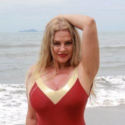 Sylvia Pantoja en la playa de Honduras en 'Supervivientes 2021'