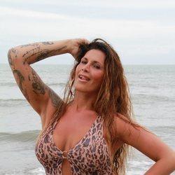 Lara Sajen en la playa de Honduras en 'Supervivientes 2021'