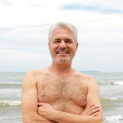 Agustín Bravo en la playa de Honduras en 'Supervivientes 2021'