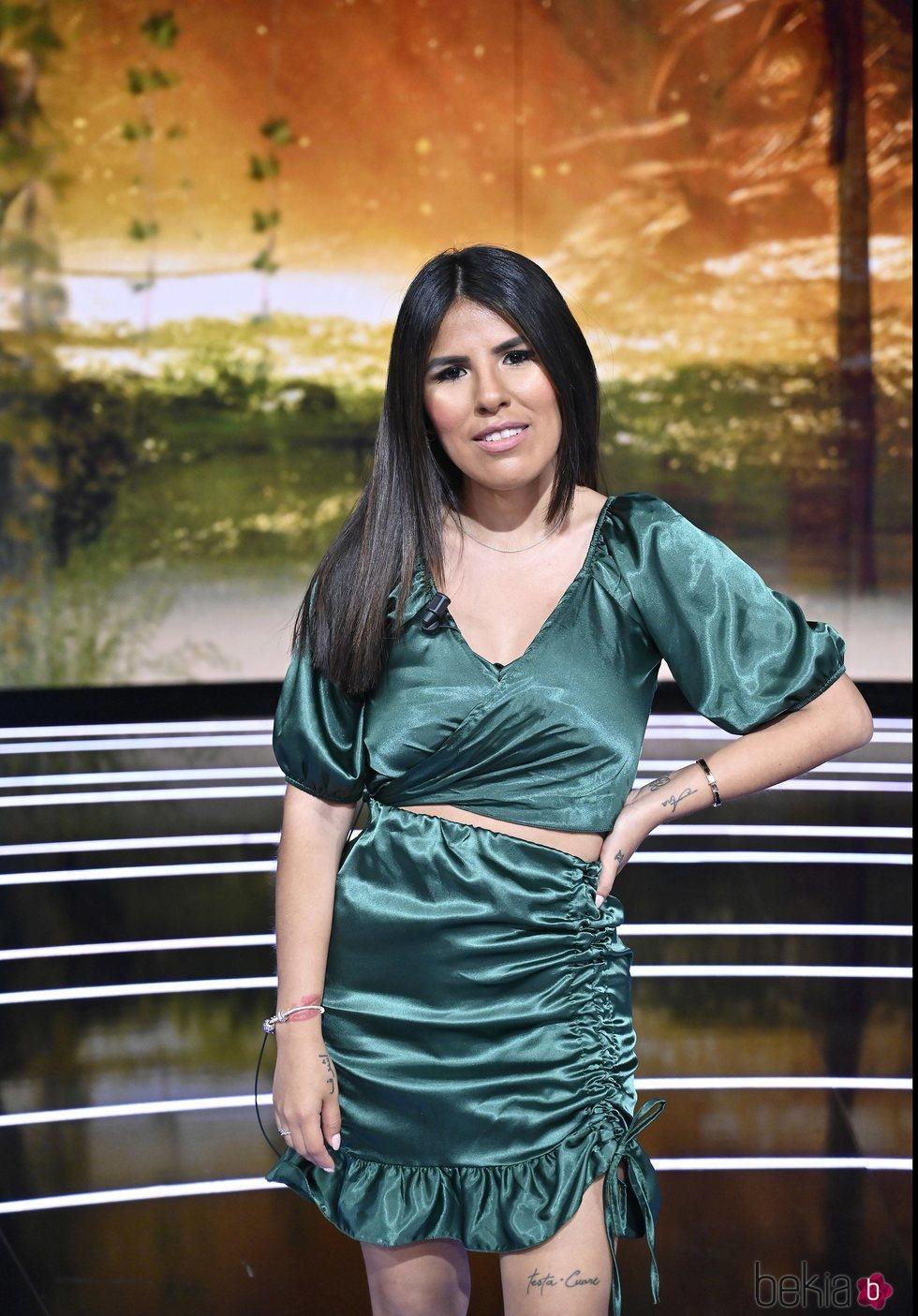 Isa Pantoja posa en el debate de 'Supervivientes 2021: Conexión Honduras'