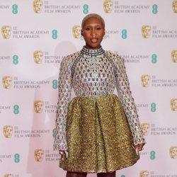Cynthia Erivo en los BAFTA 2021
