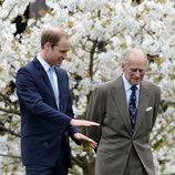 El Duque de Edimburgo y el Príncipe Guillermo en Windsor en 2014