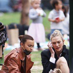 Irina Shayk y Karlie Kloss juntas por Nueva York