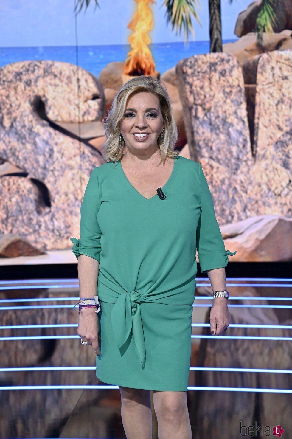 Carmen Borrego en el primer programa de 'Supervivientes 2021: Tierra de nadie'