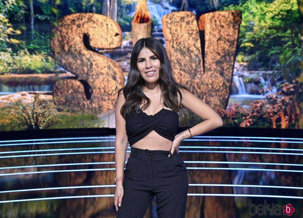 Isa Pantoja en el primer programa de 'Supervivientes 2021: Tierra de nadie'