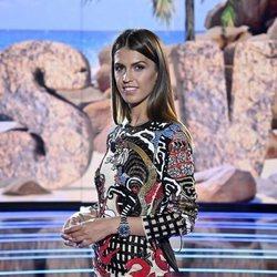 Sofía Suescun posa en el primer programa de 'Supervivientes 2021: Tierra de nadie'