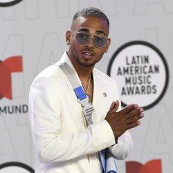 Ozuna en la alfombra roja de los Latin American Music Awards 2021