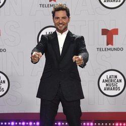 David Bisbal en la alfombra roja de los Latin American Music Awards 2021