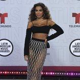 Anitta en la alfombra roja de los Latin American Music Awards 2021