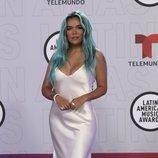 Karol G en la alfombra roja de los Latin American Music Awards 2021
