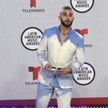 Manuel Turizo en la alfombra roja de los Latin American Music Awards 2021