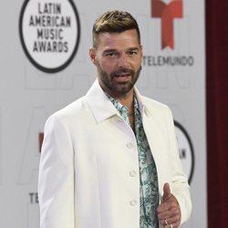Ricky Martin en la alfombra roja de los Latin American Music Awards 2021