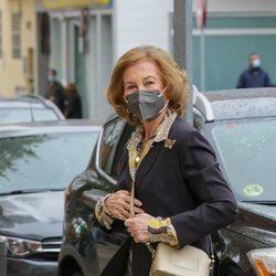 La Reina Sofía se vacuna contra el coronavirus
