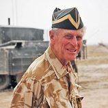 El Duque de Edimburgo en Irak