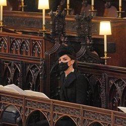 Kate Middleton en el funeral del Duque de Edimburgo