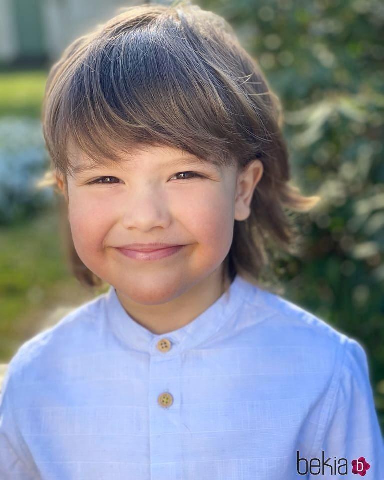 Alejandro de Suecia, muy feliz en su 5 cumpleaños