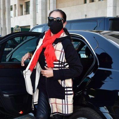 Isabel Pantoja reaparece para viajar a Madrid